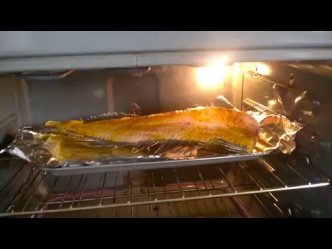Filleted Fish Jumping In Oven