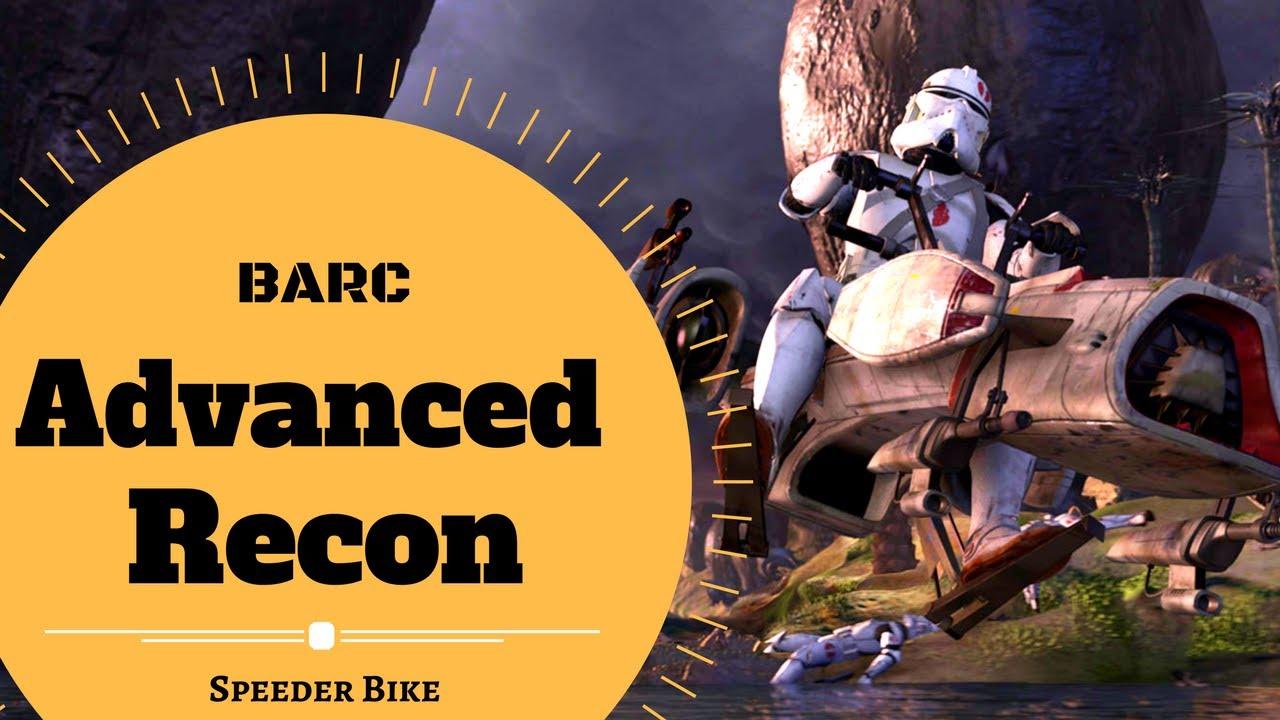 Download BIKE ADVANCED RECON COMMANDO (BARC) SPEEDER Lore - Star Wars Canon & Lore Explained