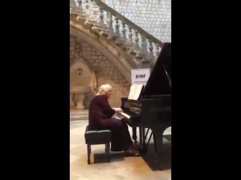 "11.BIMF 2015:   Ursula Oppens in Dubrovnik performing Rzewski's ""United People"""