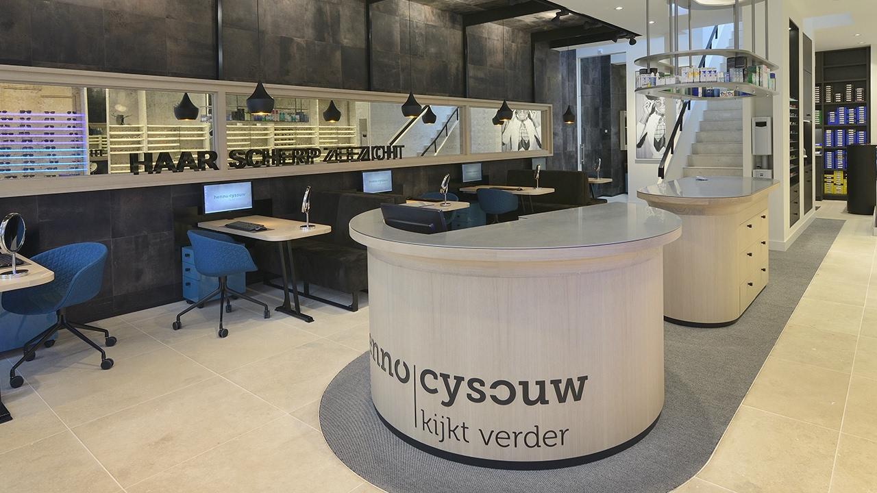 Winkelinrichting kaasschieter audicien door wsb interieurbouw 2016 ...
