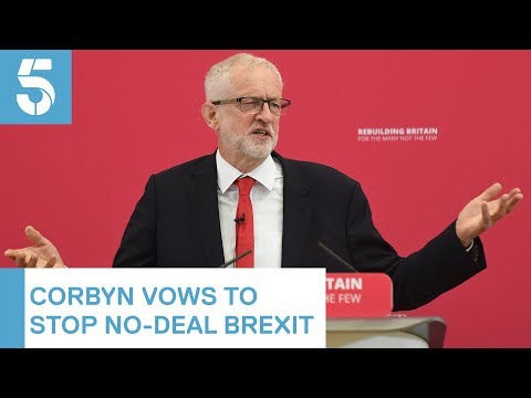 Jeremy Corbyn demands an election saying it's the only way to stop the Brexit crisis | 5 News