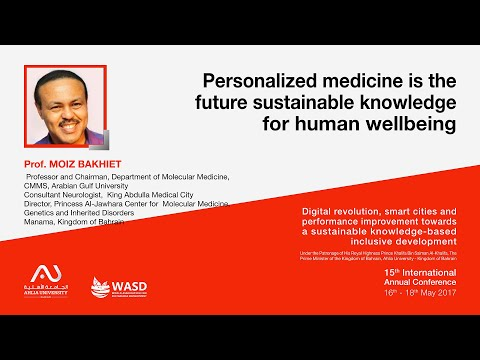 Personalized medicine is the future sustainable knowledge for human wellbeing