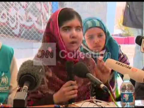 MALALA - PROMISE TO SYRIA'S REFUGEE CHILDREN
