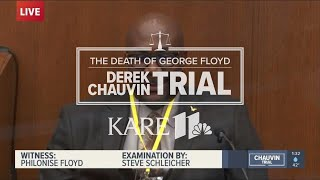 WATCH LIVE - Derek Chauvin trial: George Floyd's brother testifies as a 'spark of life' witness