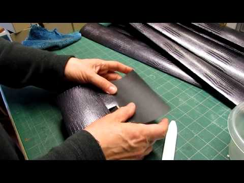 Covering and Lining a Box in One Proceedure