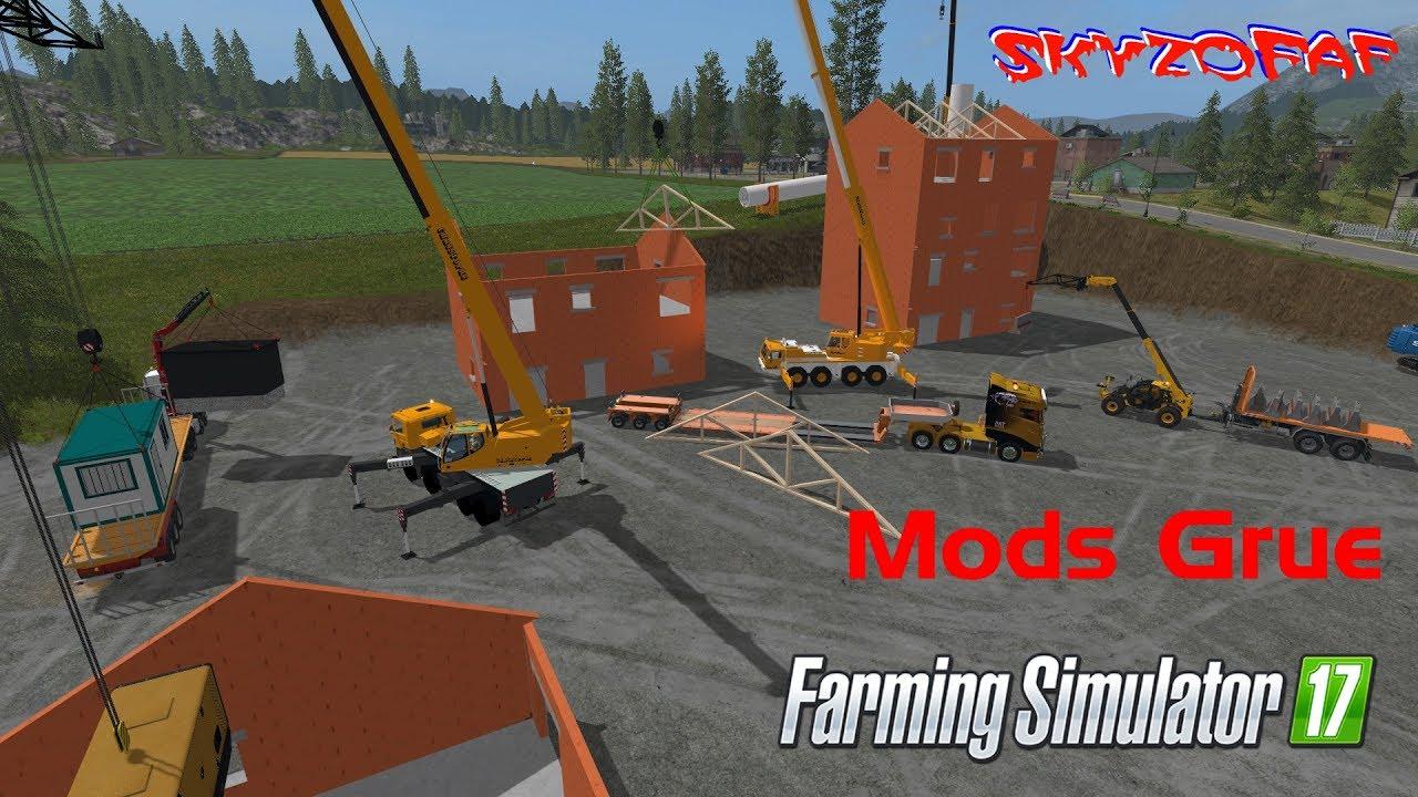 Fs17 travaux public gros chantier avec plein de mods for Pack travaux