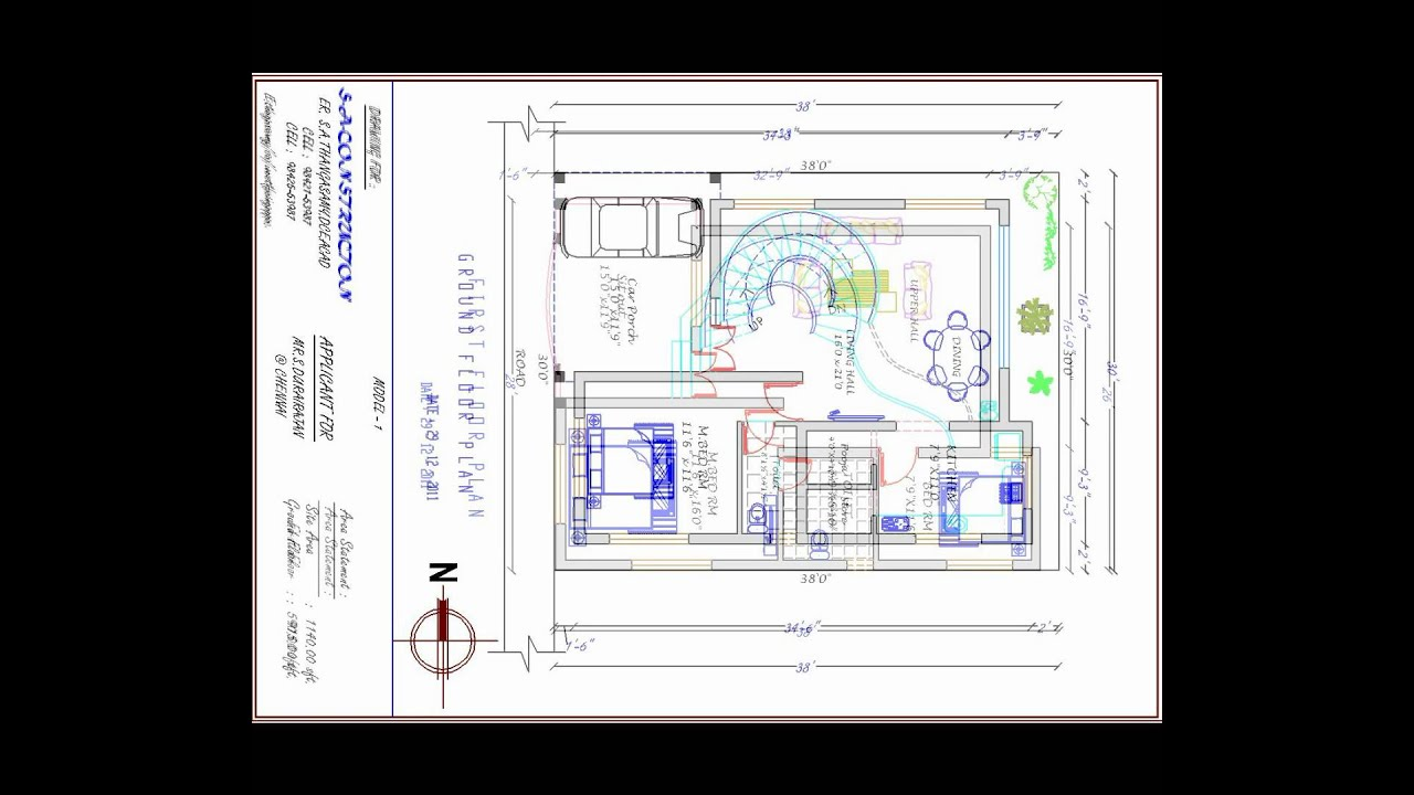 house plan west facing4