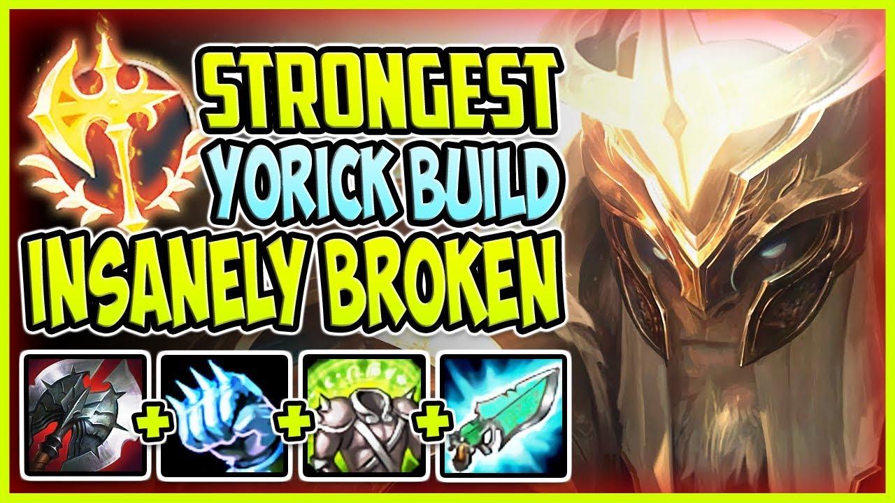 Yorick ad build mobafire
