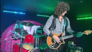 My 'Brighton Rock' style guitar solo filmed live at a tribute show.