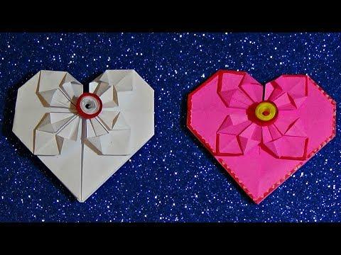 Поделка сердечко валентинка на день матери, святого Валентина