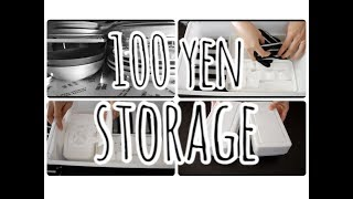 【100均収納】生活感をなくす!ダイソー購入品で収納アイデア紹介!【モノトーン】 |PEKO
