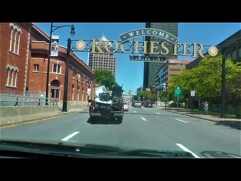 Driving Through Downtown Rochester, NY