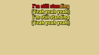 I'm Still Standing Elton John best karaoke instrumental lyrics cover