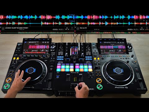 PRO DJ DOES INSANE MIX ON THE CDJ-3000 & DJM-S11 - Creative DJ Mixing Ideas For Beginner DJs