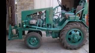Самоделки своими руками видео трактора