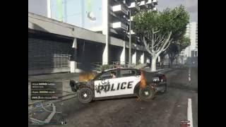 GTA OnLine 29/05/2016 Жаренное мяско в полицейской машине:)