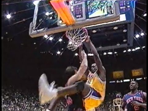 Los Angeles Lakers vs. New York Knicks (1999): Rodman, Dudley, Shaq, and More!