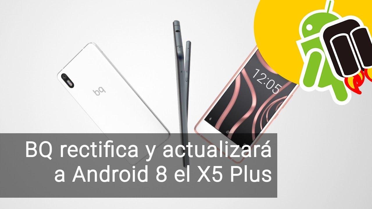 Bq Aquaris Android 8