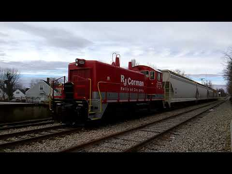 RJ Corman Engine #255 At Old Kentucky Dinner Train In Bardstown KY. (1-11-2018)
