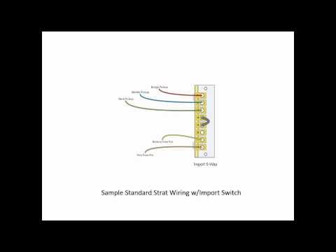 Import versus Standard 5-Way Switches