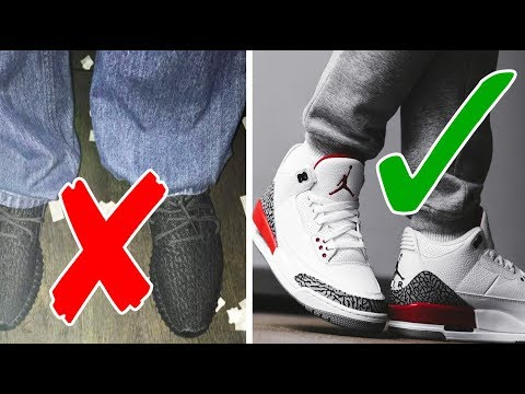 5 SNEAKER MISTAKES YOU NEED TO AVOID