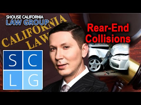 Rear-end collisions - 3 times when the lead driver can be at fault