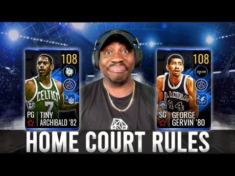 GETTING 108 OVR MASTERS IN HOME COURT RULES! NBA Live Mobile 19 Season 3 Ep. 143