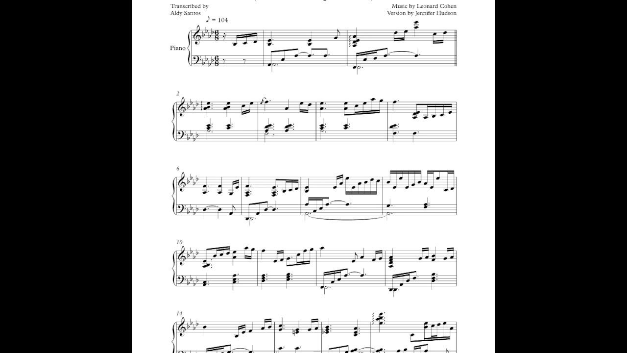 Kelley Mooney Hallelujah Sheet Music Pdf