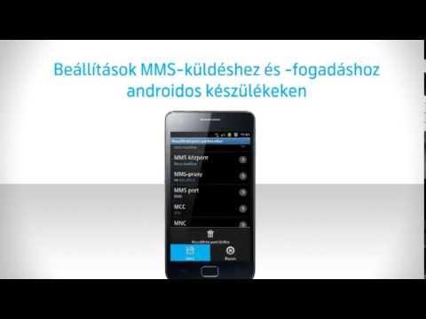 Android készülékek MMS beállítása