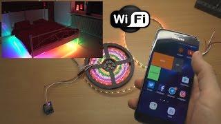 Home automation over WiFi using WeMos ESP8266