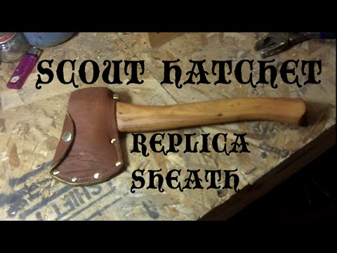 Vintage Boy Scout Hatchet Sheath Youtube