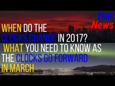 when do clocks change 2017| uk clocks change 2017| when do the clocks change 2017