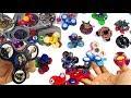 50+ Colección de Fidget Spinners de Casa Magica de Juguetes con Más de 50 Fidget Spinners Originales