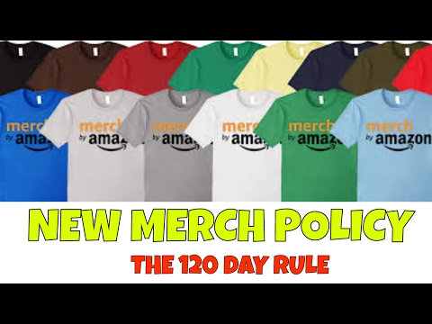 Amazon Merch Clarifies Policy on Un-used / Dormant Accounts | The 120 Day Rule