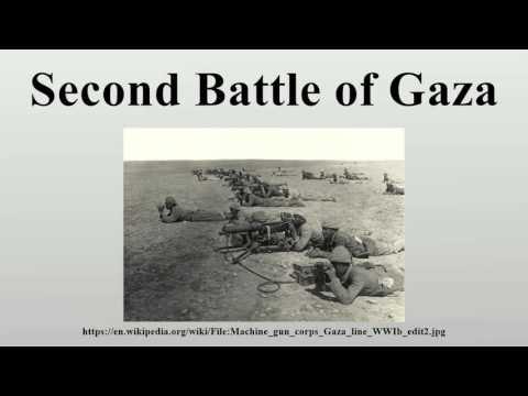 Second Battle of Gaza