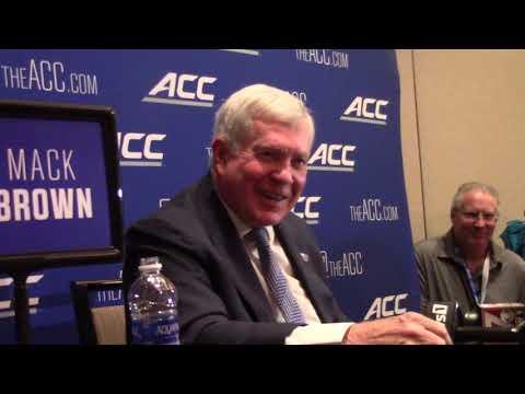 Mack Brown 2021 ACC Kickoff Breakout Interview