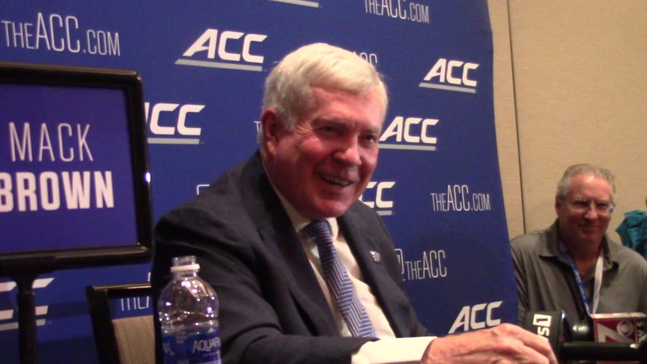 Video: Mack Brown 2021 ACC Kickoff Breakout Interview