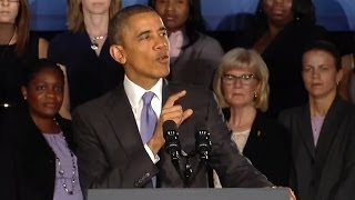Obama: Women Deserve A Fair 21st Century Economy