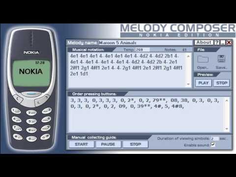 ringtone nokia 1100 composer