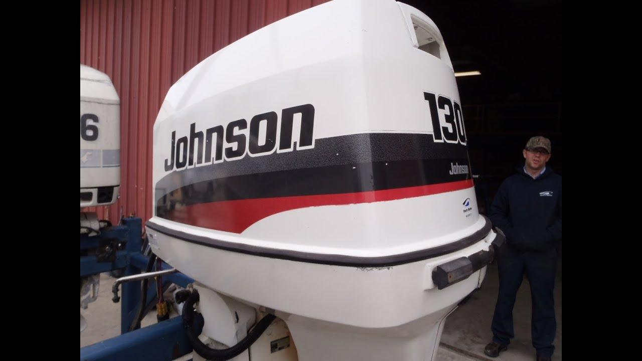 6m2a31 Used 1997 Johnson J130txaum 130hp 2