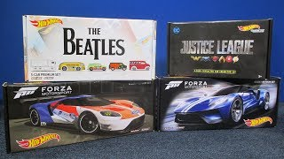 Forza Motorsports 2017 Box Set from Hot Wheels with '16 Ford GT Race Porsche BMW Pagani Huayra