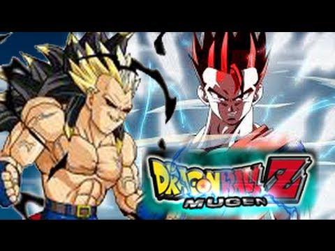 Dragonball Z Mugen:Super Saiyan God Gohan vs Rigor - YouTube