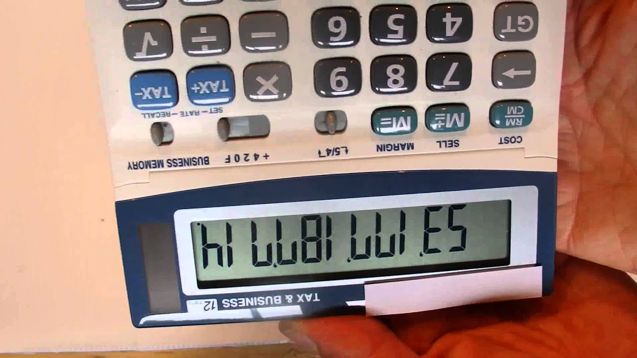 The Longest Calculator Words - Two Words that are Both 11 Letters ...