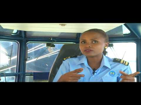 Strength Of A Woman: Elizabeth Marami, Trainee Maritime Pilot