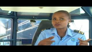 Strength Of A Woman: Elizabeth Marami, Trainee Maritime Pilot