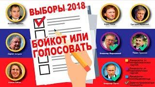 Выборы 2018: бойкот или голосовать