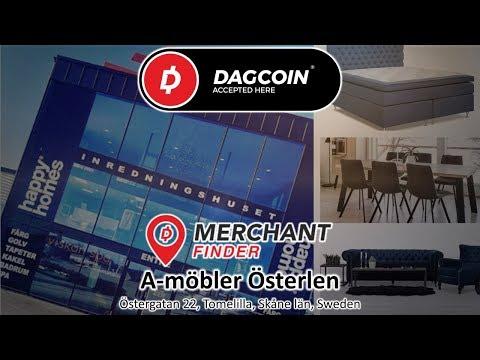 DAGCOIN MERCHANT HOME APPLIANCES IN SWEDEN