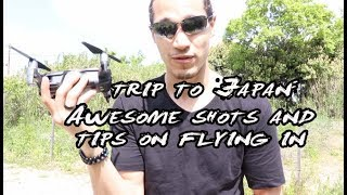 Trip to Japan: Flying a drone in Japan ( dji MAvic Air)