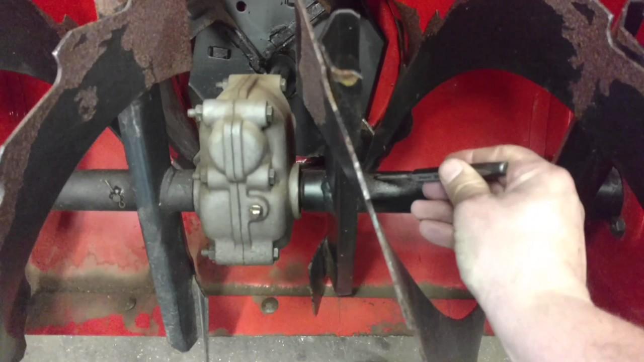 Simplicity snowblower shear pin replacment