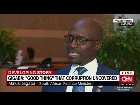 S. Africa economy is in trouble: Gigaba